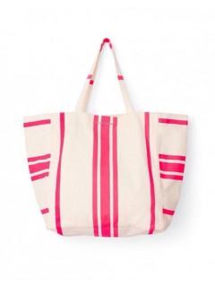 Пляжная сумка VICTORIA'S SECRET  лимитный выпуск цвет PINK STRIPED