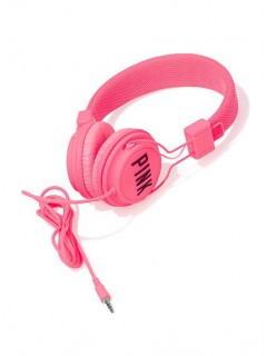 Наушники Victorias Secret DJ headphones pink