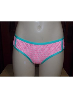 Плавки Victoria's Secret Ruched Cheecky Neon Low-Rise Hipkini Bikini Bottoms XS Pink