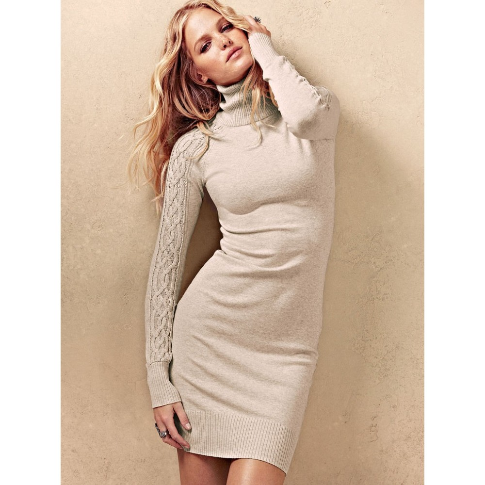 Платье Шерстяное Белое Купить