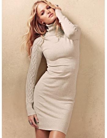 Платье Knit Turtleneck Dress