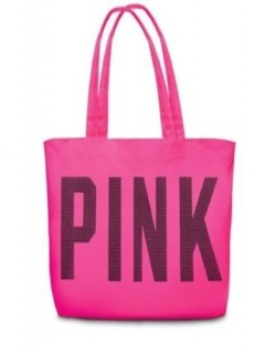 Сумка Tote bag PINK Large beach college weekend Swim