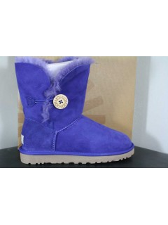 UGG Australia Bailey Button Boot Royal Blue - Угги с пуговицей
