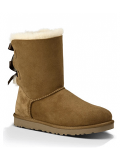 UGG Australia Bailey Bow Chestnut Угги с лентами