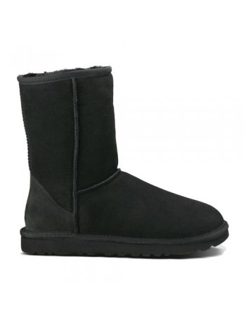 UGG Australia Classic Short Black Boots 5825
