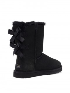 UGG Australia Bailey Bow Black Угги с лентами