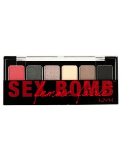 Набор теней NYX THE SEX BOMB SHADOW PALETTE (TSB)