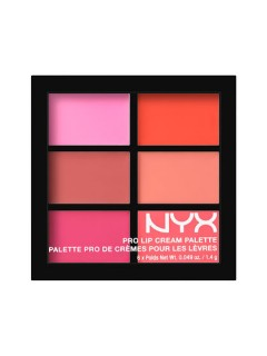 ПАЛЕТКА ПОМАД NYX PRO LIP CREAM PALETTE Pinks