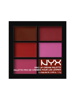 ПАЛЕТКА ПОМАД NYX PRO LIP CREAM PALETTE Plums