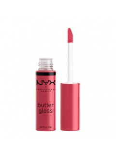 БЛЕСК ДЛЯ ГУБ NYX BUTTER GLOSS STRAWBERRY CHEESECAKE