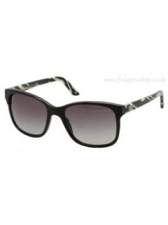 Очки солнцезащитные Versace 4229 GB1 / 11 Black & Ivory